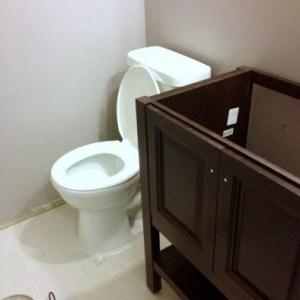 Guest Bathroom: the Vanity!