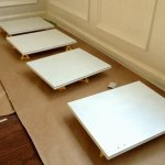 white painted cabinet doors - paint pyramid
