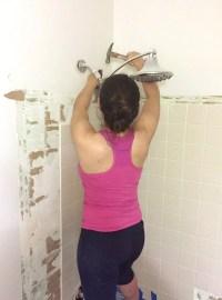 Removing Old Shower Tile | Tile Design Ideas