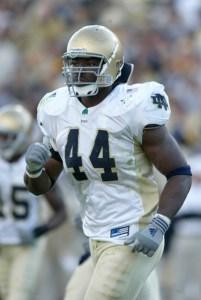 Justin Tuck - Former Notre Dame DE
