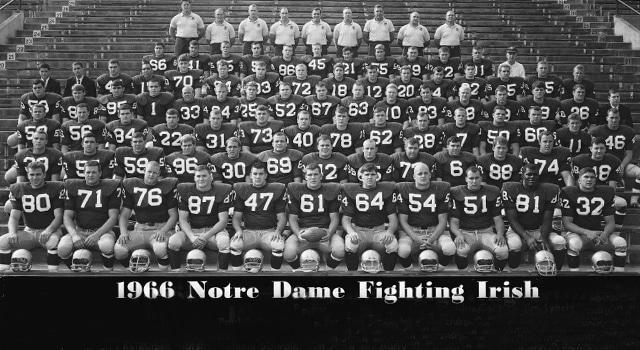Notre Dame\u0027s 1966 National Championship   UHND