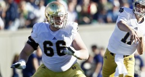 Notre Dame's Chris Watt is expected to start this weekend against PItt after missing last weekend's Navy game (Photo: Isaiah J. Downing-USA TODAY Sports)