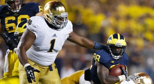 Louis Nix will play for Notre Dame against Pitt