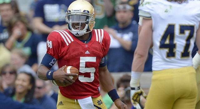 2014 Notre Dame Football Offense Where Are We?   UHND