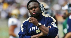 Tony Alford - Notre Dame RB Coach