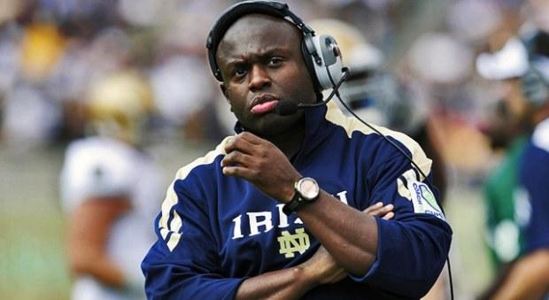 Tony Alford - Notre Dame RB Coach