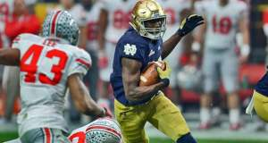 Josh Adams - Notre Dame RB