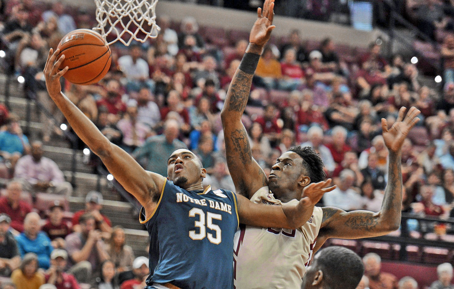 Virginia dictates action in win over Notre Dame