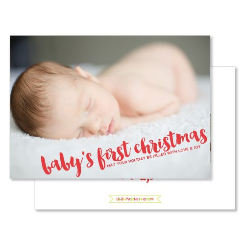 Medium Crop Of Baby First Christmas