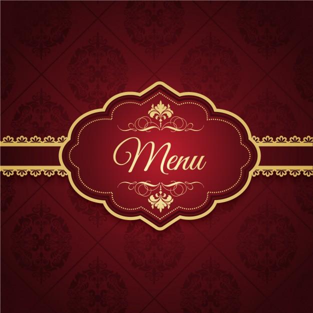 Elegant Menu Design free vectors UI Download