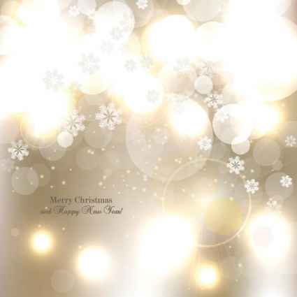 Free vector ornament christmas and happy new year background free