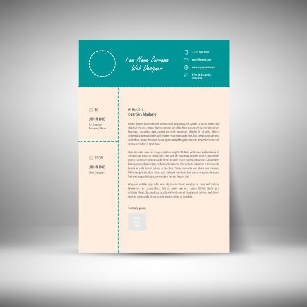 Curriculum vitae template free vectors UI Download