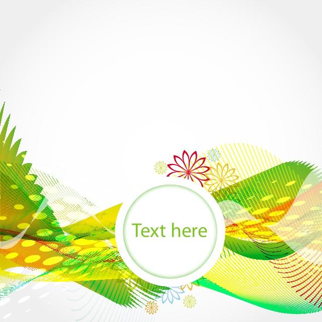 green vector waves background free vectors UI Download