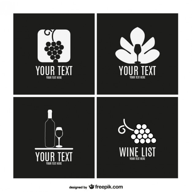 Wine Label Template Collection Free Vector free vectors UI Download