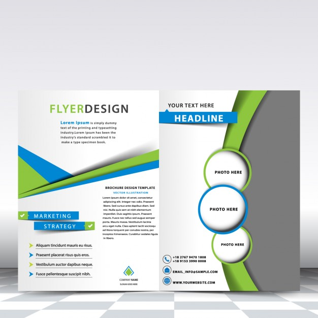 green brochure backgrounds - Alannoscrapleftbehind - flyers and brochures templates