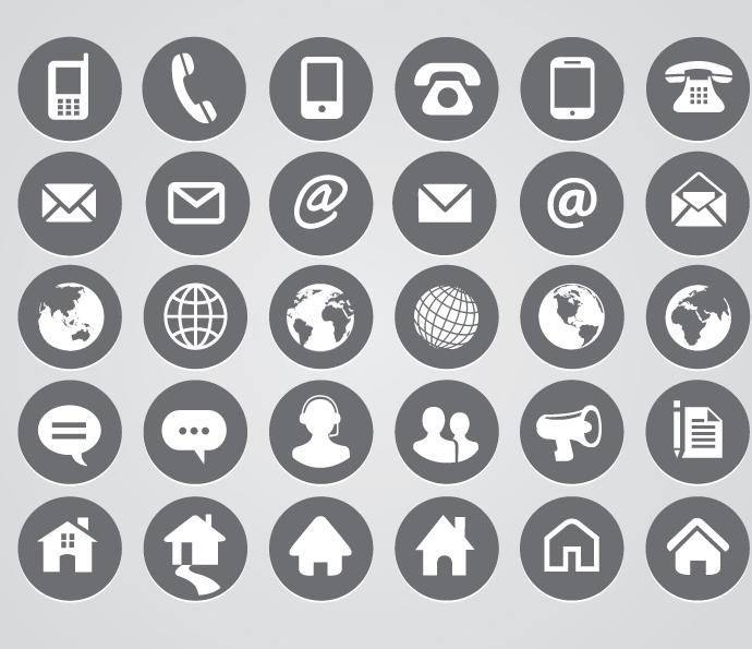 icon gratuit pour cv