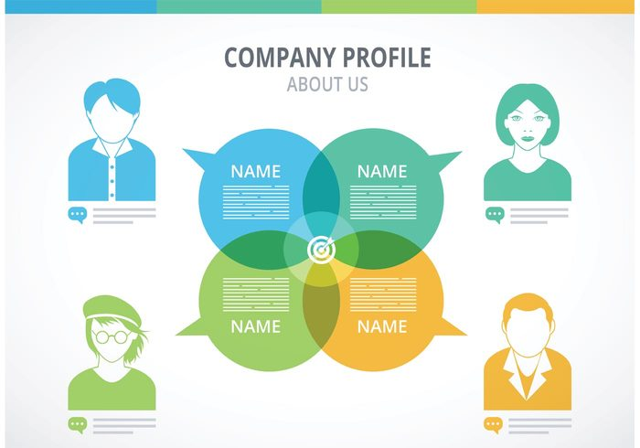Free Company Profile Template Vector free vectors UI Download