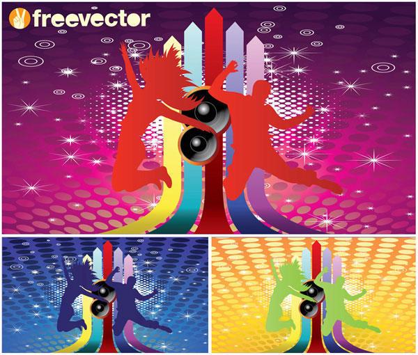 Club Flyer Background free vectors UI Download