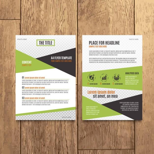 Modern Corporate Brochure Design free vectors UI Download