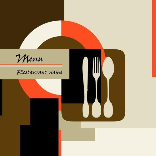 Restaurant menu background vector set 04 free vectors UI Download