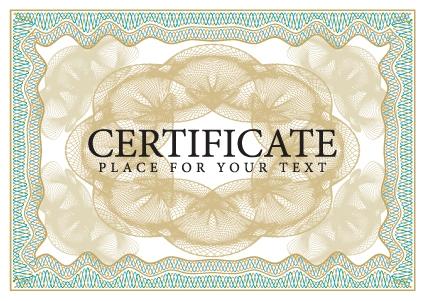 Certificate design vector frame free vectors UI Download