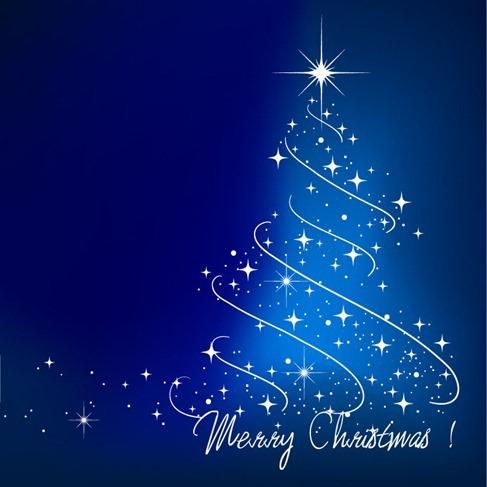 Blue Christmas Tree free vectors UI Download