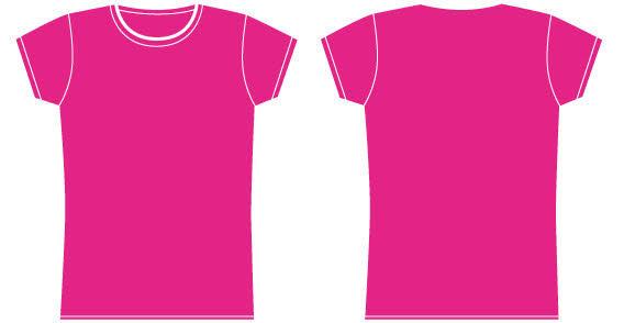 Girl T-Shirt Template free vectors UI Download