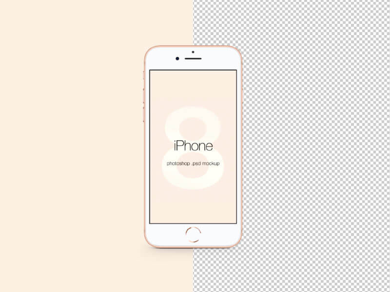 iPhone 8 Mockup PSD Free PSDs  Sketch App Resources for Designers
