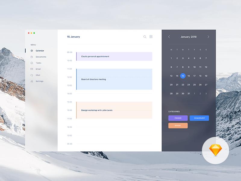 calendar budget app