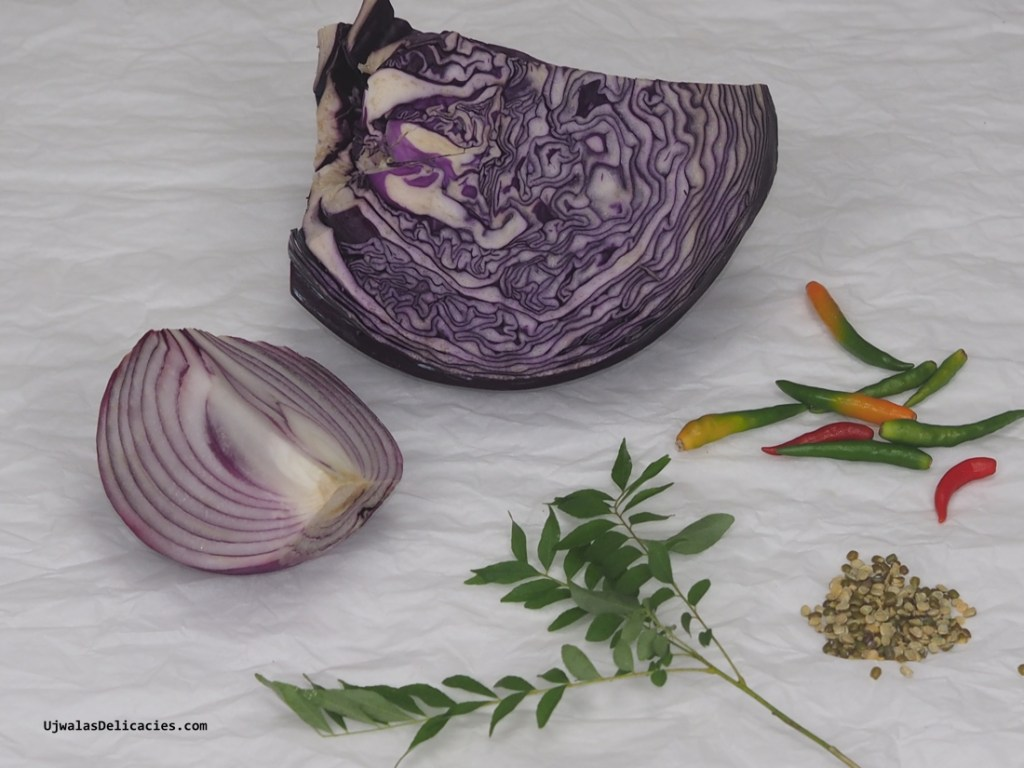Purple Cabbage Saute