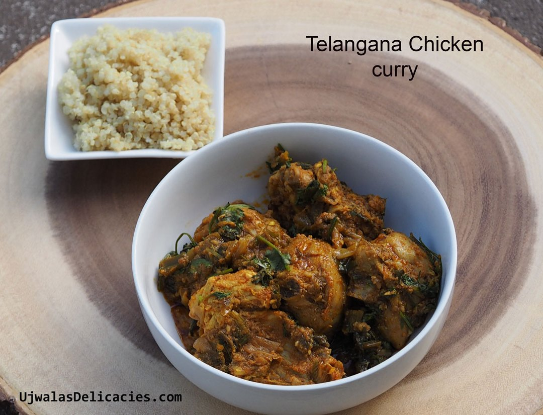Telangana chicken curry