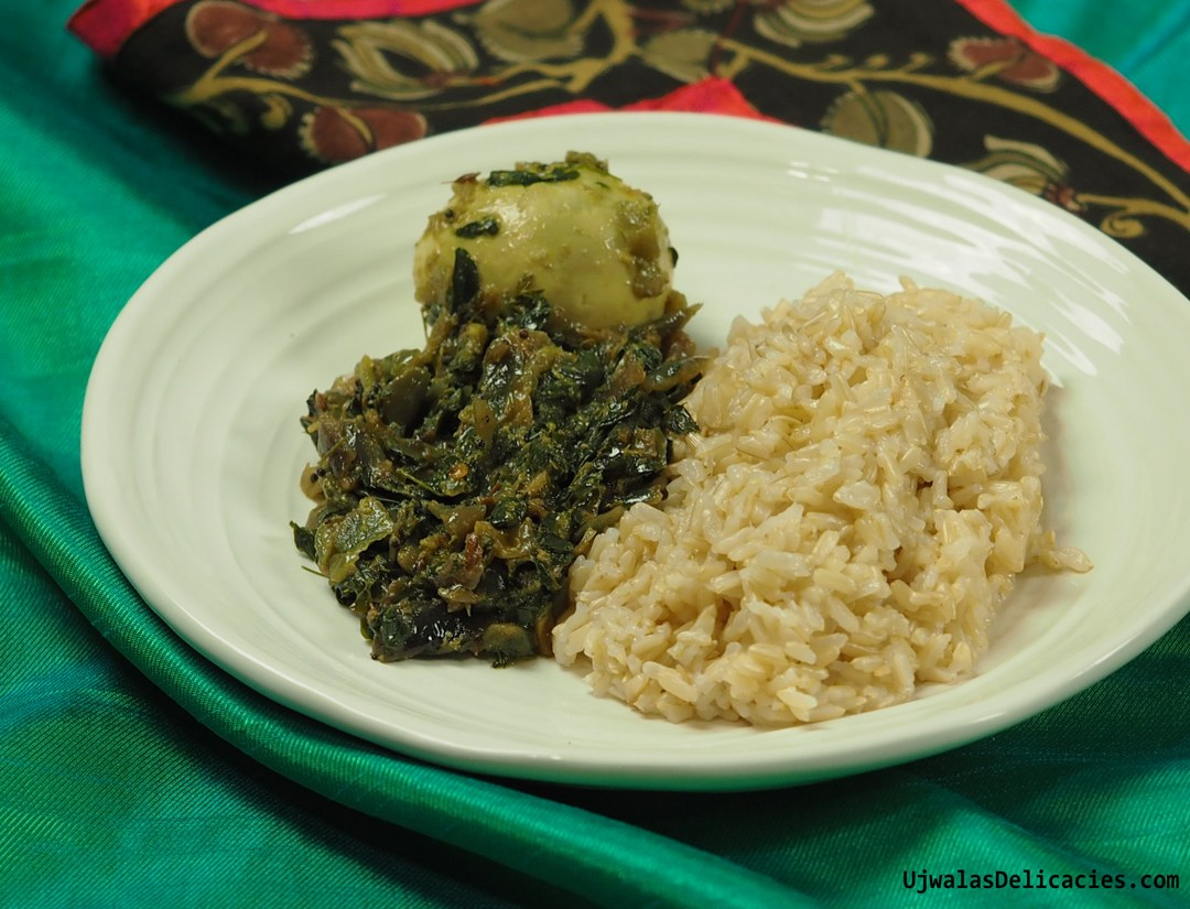 Moringa, Egg curry