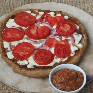 Wholegrain homemade Pizza