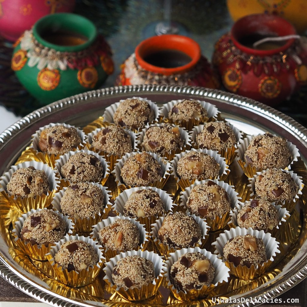 Dates, Poppy Seed Laddu