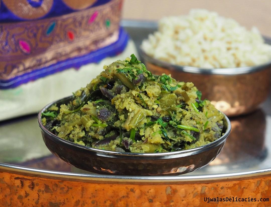 Colocasia Stem Curry