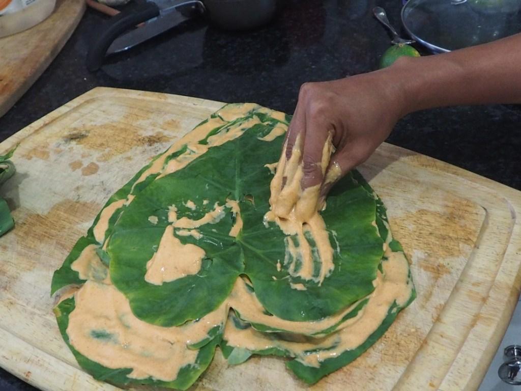 Patra making