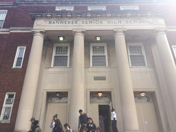 Benjamin Banneker High School in NW Washington, DC.