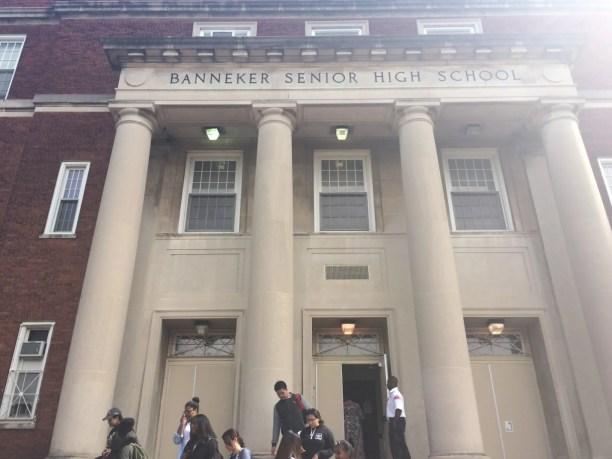 Benjamin Banneker High School in NW Washington, DC.
