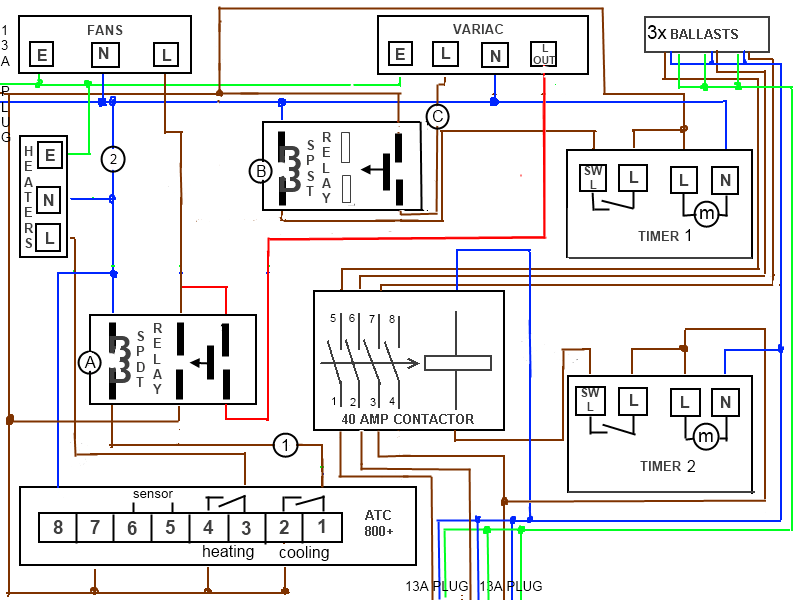 diy home grow wiring diagram