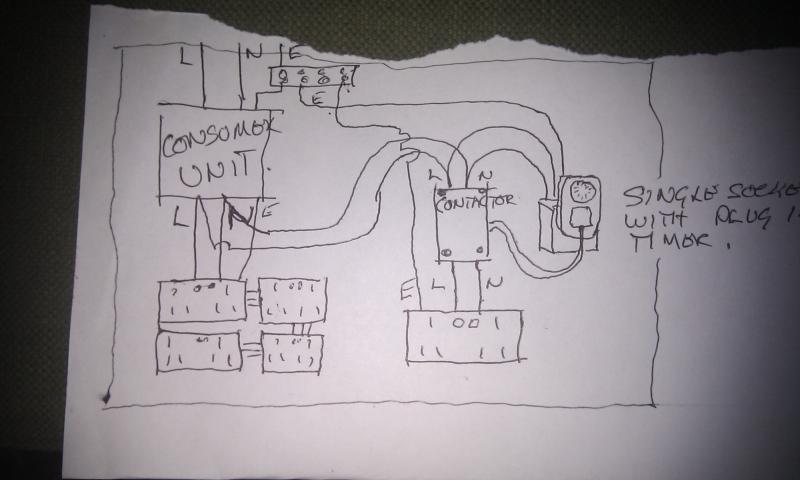 Shed Consumer Unit Wiring Diagram Consumer Unit Wiring Diagram Split