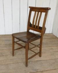 Antique Church Chairs 6018