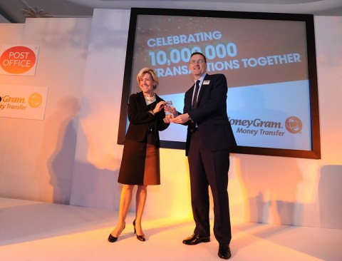 MoneyGram CEO and Post Office director celebrate successful 14-year association