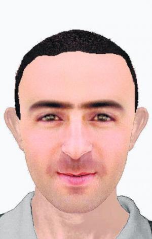 profili sulmuesit i vizatuar nga policia