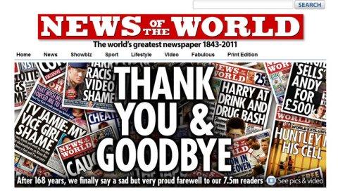 Numri i fundit i News of the World