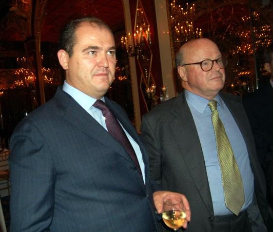 Rrahim Pacolli, takime me ambasadorin Frank Wisne