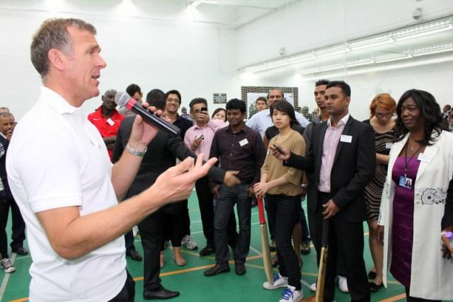 Moneygram appoint former England cricket captain Alec Stewart as company's ambassador