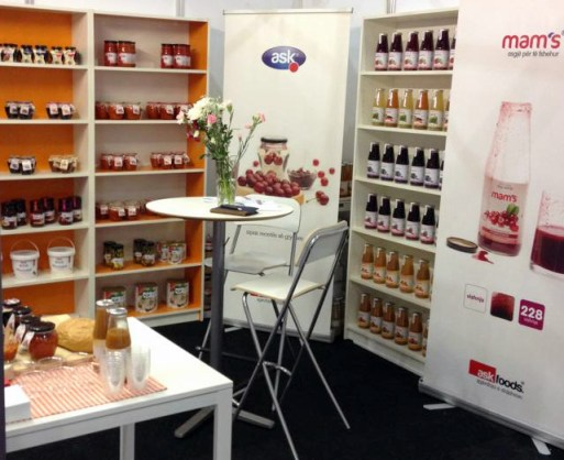 Kosovo food products at ExCeL - London
