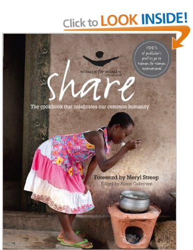 Book: Share: The Women For Women Cookbook