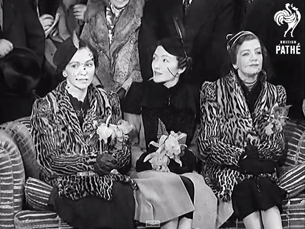 Albanian Princesses Visit New York (1938)