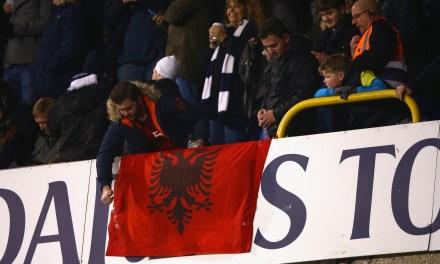 <!--:en-->Albanian Flag overshadowed a low-key Tottenham Hotspur's game<!--:-->